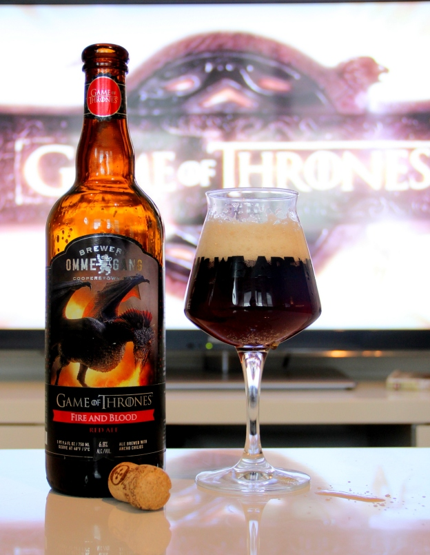 Ommegang Game of Thrones Fire and Blod Red Ale